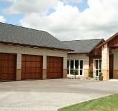 Garages and Front of House