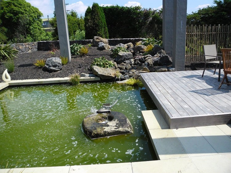 Hinuera stone specialists ltd outdoor entertaining for Garden pond specialists